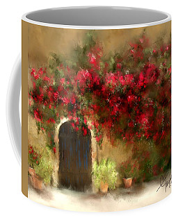 The Bougainvillea's Of Sedona Coffee Mug by Colleen Taylor