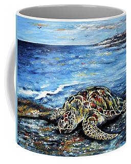 See Weed Turtle Coffee Mug