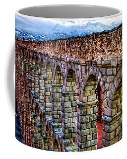 Segovia Aqueduct Spain By Diana Sainz Coffee Mug