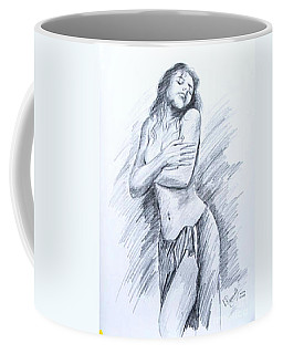 Semi Nude Coffee Mug