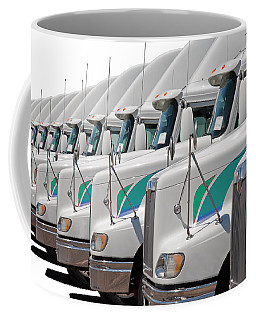 Semi Truck Fleet Coffee Mug