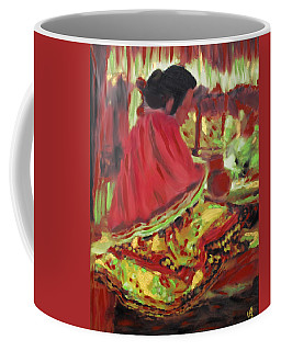 Seminole Indian At Work Coffee Mug