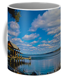 Seneca Lake At Glenora Point Coffee Mug by William Norton