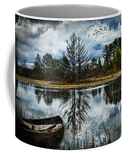Seney And The Rowboat Coffee Mug