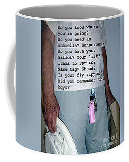 Senior Check List  Coffee Mug