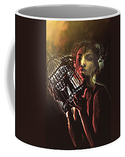 Sentence Portrait Coffee Mug