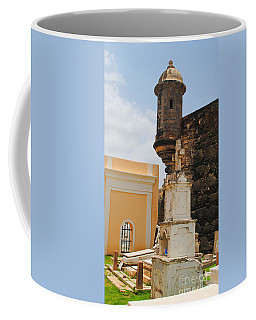 Sentinel Tower Over Graves Coffee Mug