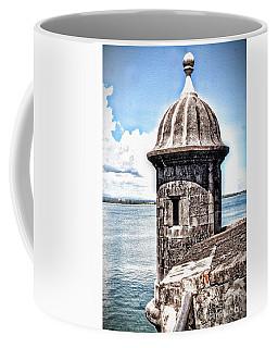 Sentry Box In El Morro Hdr Coffee Mug