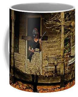 Coffee Mug featuring the digital art Sentry by Galen Valle