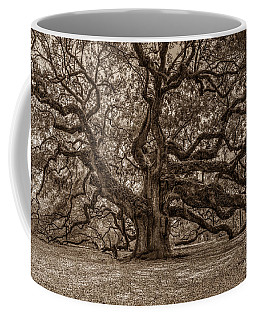 Sepia Angel Oak Coffee Mug