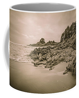 Cox Bay Sepia Coffee Mug