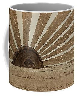 Sepia Sunset Original Painting Coffee Mug