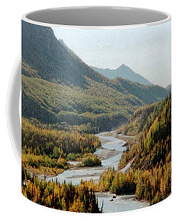 September Morning In Alaska Coffee Mug