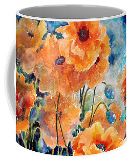 September Orange Poppies            Coffee Mug