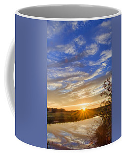 September Sky Reflection Coffee Mug