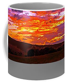 September Smokies Sunrise Coffee Mug