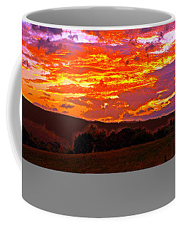 September Smokies Sunrise Coffee Mug