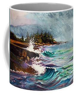 September Storm Lake Superior Coffee Mug