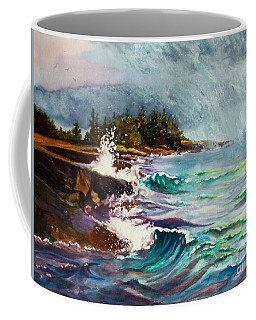 September Storm Lake Superior Coffee Mug