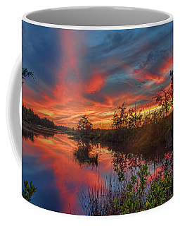 September Sunset Reflection Coffee Mug