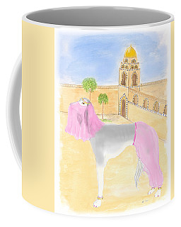 Coffee Mug featuring the painting Serena All Set For Arabian Nights by Stephanie Grant