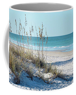 Serene Florida Beach Scene Coffee Mug
