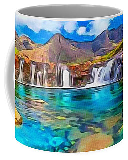 Serene Green Waters Coffee Mug
