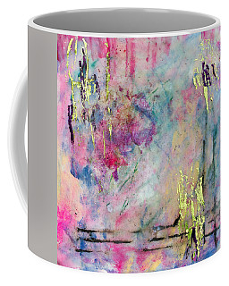 Serene Mist Encaustic Coffee Mug