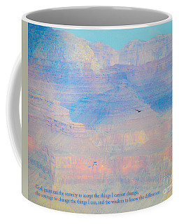 Serenity At The South Rim Coffee Mug