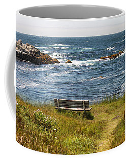 Serenity Bench Coffee Mug
