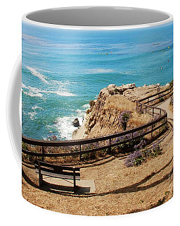 A Place To Relax Coffee Mug by Claudia Ellis