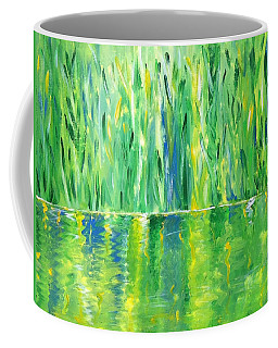 Serenity In Green Coffee Mug