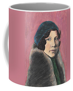Coffee Mug featuring the painting Serenity by Jeanne Fischer