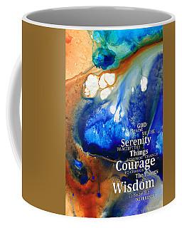 Serenity Prayer 4 - By Sharon Cummings Coffee Mug