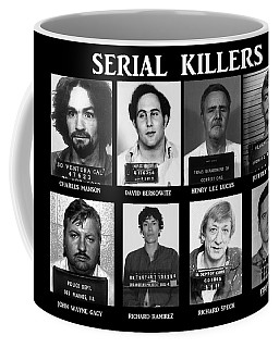 Serial Killers - Public Enemies Coffee Mug