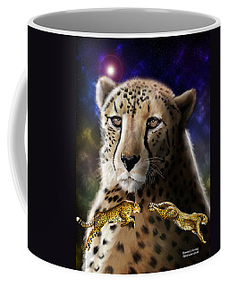 First In The Big Cat Series - Cheetah Coffee Mug