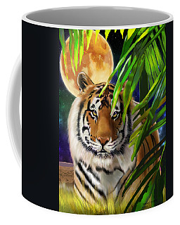 Second In The Big Cat Series - Tiger Coffee Mug
