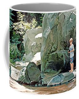 Serious Fishin' Coffee Mug