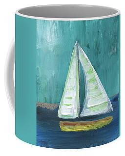 Set Free- Sailboat Painting Coffee Mug