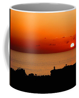Set Into The Sea Coffee Mug