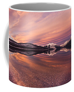 Setting On Glacier Coffee Mug