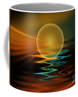 Setting Sun Coffee Mug by Klara Acel