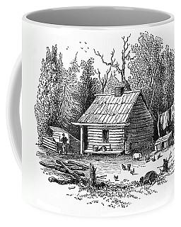 Settler's Log Cabin - 1878 Coffee Mug