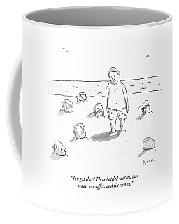 Several Men Have Been Buried In Sand Coffee Mug
