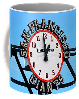 San Francisco Giants Baseball Time Sign Coffee Mug