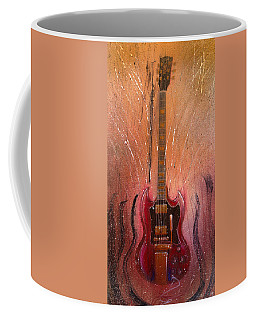 Coffee Mug featuring the painting SG by Andrew King