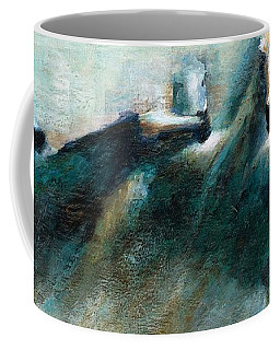 Shades Of Blue Coffee Mug by Frances Marino