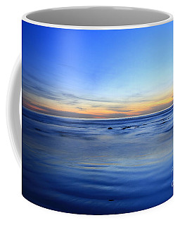 Coffee Mug featuring the photograph Rocks In Surf Carlsbad by John F Tsumas