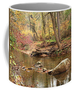 Shades Of Fall In Ridley Park Coffee Mug by Patrice Zinck