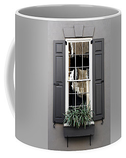 Shades Of Grey In Charleston Coffee Mug by Skip Willits